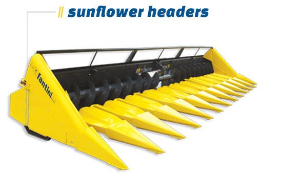 Sunflower Headers